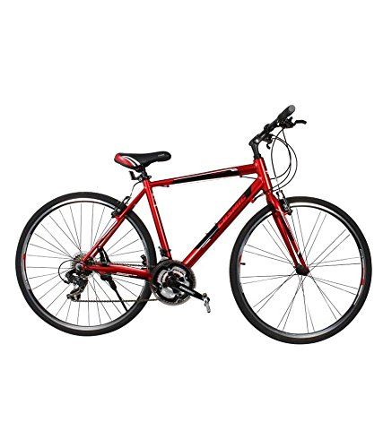 Cosmic Shuffle 700 Alloy Bicycle, Boy's 28-inch (Red)