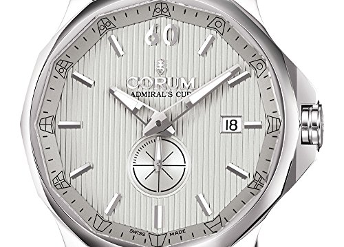 Corum Admiral's Cup Legend 42 Automatic Steel Mens Watch Calendar 395.101.20/0F61 FH10 - 2