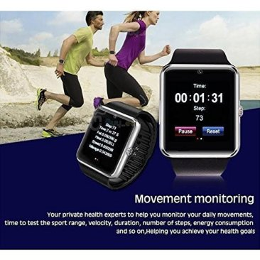 Jokin Bluetooth Smart Watch with Camera & SIM Card Support for Android and iOS Smartphones 8