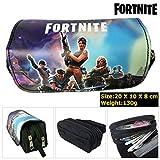 Hot Game Fortnite Battle Royale Series - Estuche de lona cosmética – gran capacidad oficina escuela papelería 03