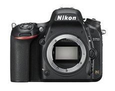 """Nikon D750 - Cámara réflex digital de 24.3 Mp (pantalla 3.2"""", vídeo Full HD), color negro - Solo cuerpo - [Versión Nikonistas]"""