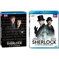 Pack Sherlock: Temporadas 1 a 3 + La Novia Abominable [Blu-ray]