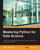 Mastering Python for Data Science by [Madhavan, Samir]