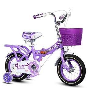 Bicicleta infantil KXBYMX Bicicleta para niños bicicleta plegable bicicleta para bebés de 2 a 10 años de edad, cochecito de bebé al aire libre, un solo niño, bicicleta de picnic Bicicleta estilo libre