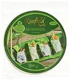Ricefield Reispapier, rund, 22 cm, 4er Pack (4 x 300 g Packung)