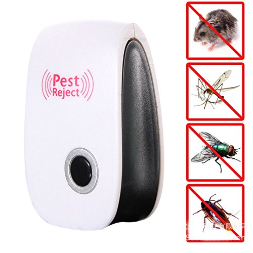 Generic White : Electronic Protetive Rat Mouse Repellent Ultrasonic Mouse Device Anti Mosquito Repeller killer Rodent Pest Bug Reject Mole mice