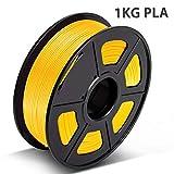 PLA Filament Gold, 3D Hero PLA Filament 1.75mm,PLA 3D Printer Filament, Dimensional Accuracy +/- 0.02 mm, 2.2 LBS(1KG),1.75mm Filament, Bonus with 5M PCL Nozzle Cleaning Filament