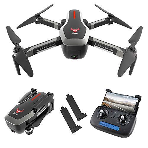 Goolsky SG906 GPS Senza spazzole 4K Drone con Fotocamera 5G WiFi FPV Pieghevole Ottico Flusso di...