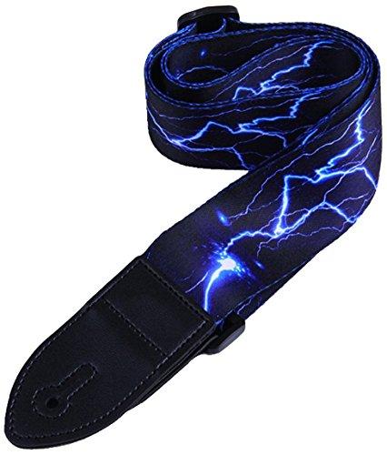 Fascio di cinghie tra chitarra, incluso set di cinturini / 1 protezione pick / fingertip per...