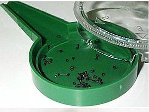 MMRM 1pc semillas sembrador del plantador de la flor de la hierba Sembradora herramientas de jardinería de tamaño ajustable