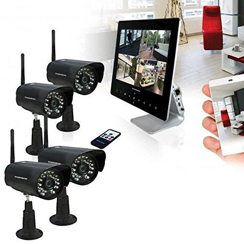 Kit Videosorveglianza 4Telecamere Wireless Thomson