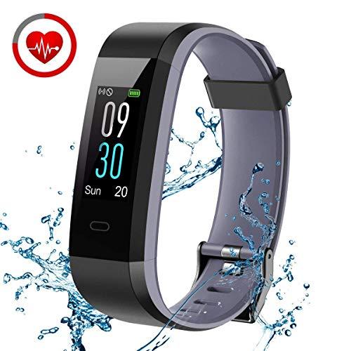 CHEREEKI Fitness Tracker, Orologio Smartwatch con Cardiofrequenzimetro, IP68 Impermeabile,...