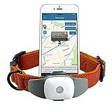 KOBWA GPS Tracker Persönlicher Wasserdichter GPS Tracking Locator Peilsender mit Ladestation für Hunde - Katzen - Haustier - Autos