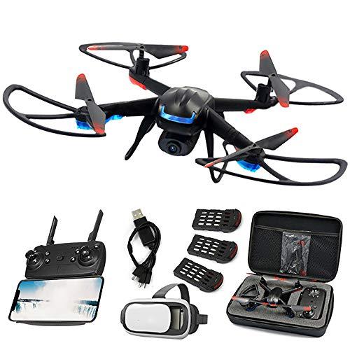 JohnnyLuLu 007-03 FPV RC Drone con videocamera HD 720p, WiFi Kit di Giocattoli per Videogiochi Live...