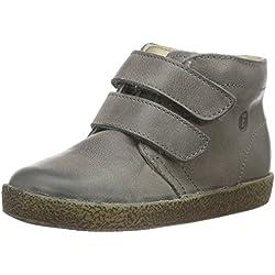 Naturino Unisex Baby Falcotto 1195 VL Sneaker, Grün (Dunkelgrau_9122), 22 EU