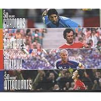 Les 50 meilleurs : Coffret en 4 volumes : Les 50 meilleurs gardiens ; Les 50 meilleurs arrieres ; Les 50 meilleurs milieux ; Les 50 meilleurs attaquants