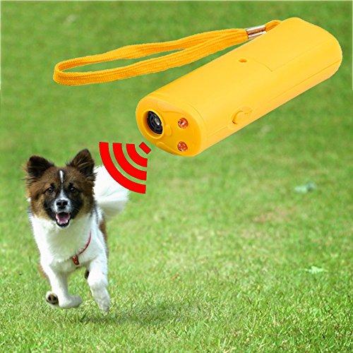 Generic LED Ultrasonic Anti Bark Barking Dog Training Repeller Control Trainer Device 3 in 1 Anti Barking Stop Bark Dog Training Device: Russian Federation