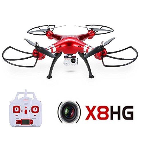 GoolRC Syma X8HG 8.0 MP HD fotocamera RC Quadcopter con barometro impostare altezza e modalità senza testa