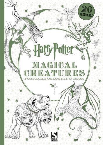 Harry Potter Magical Creatures Postcard