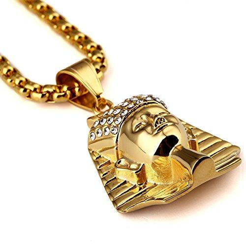 Colgante Chapado En Oro De Acero 18k