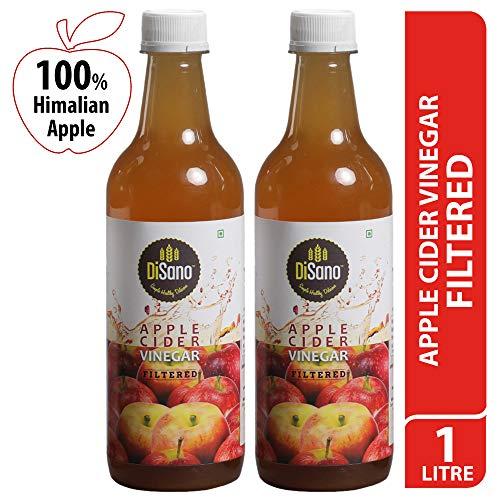 DiSano Apple Cider Vinegar, Filtered- 500 ml (2 x 500ml)