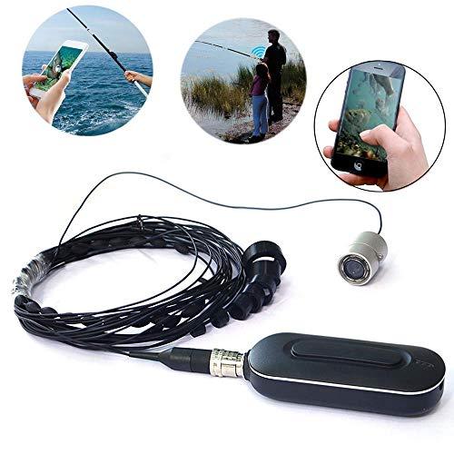 SISHUINIANHUA Rivelatore Di Pesce Portable Finder Visivo WIF App Pesca Visiva 2 Milioni Pixel 140 Angle Camera