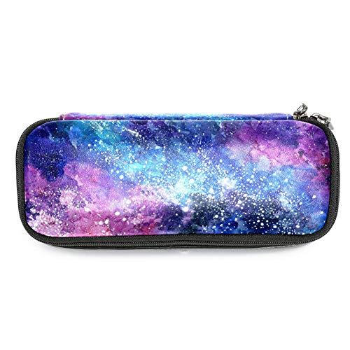 TIZORAX Space Galaxy, astuccio per matite, matite, trucco, cancelleria, portapenne, per scuola e...