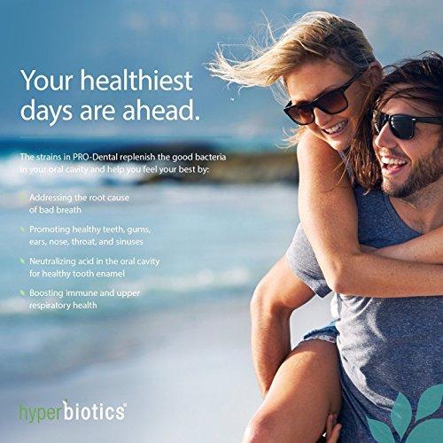 Hyperbiotics Pro-dentaires: Probiotiques pour la santé buccale et dentaire - y compris S. salivarius BLIS K2 & M8 BLIS - sucre libre (à cro... 26