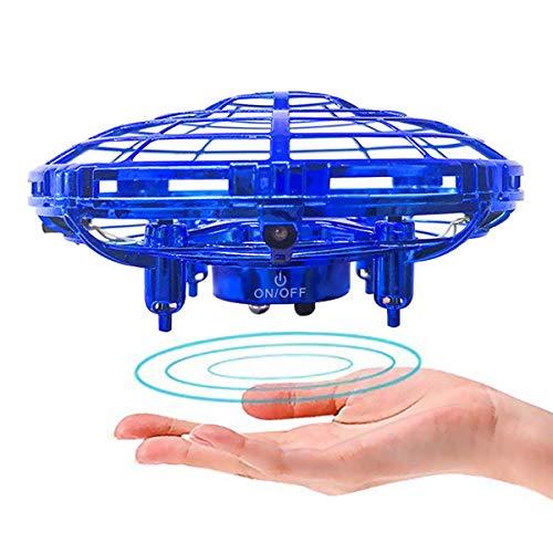 JIAMA Palla Volante, RC Flying Ball LED, Drone Infrarossi Giocattoli Volanti Elicottero Induzione a...