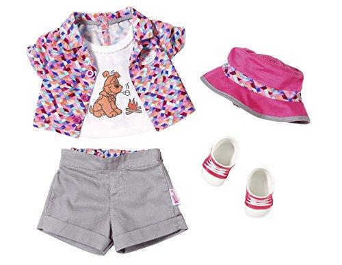 Zapf Baby Born Play&Fun Deluxe Camping Outfit Juego de ropita para muñeca - Accesorios para muñecas (Juego de ropita para muñeca, 3 año(s),, Chica, 5 Pieza(s), 43 cm)