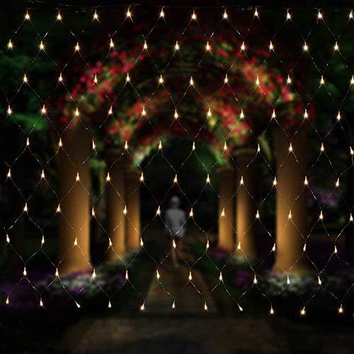 Salcar rete di luci a LED, ghirlanda luminosa, LED Rete luminosa, 3 * 2 metri per le feste di...