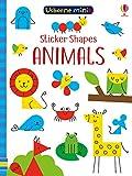 Sticker Shapes Animals (Usborne Mini Books)