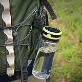 Aglaia, Bottiglia d'acqua da campeggio con lanterna ricaricabile...