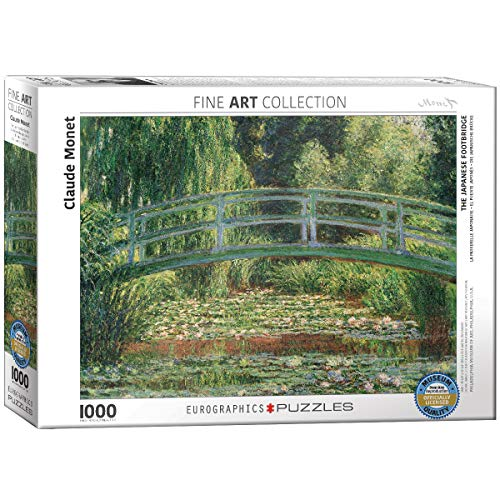 Eurographics 'Claude Monet The Japanese Footbridge puzzle (pezzi, multicolore)