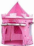 Tienda casa casita carpa campaña para niñas de tela lona CASTILLO PRINCESA, POP UP plegable para jugar juguete infantil