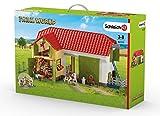 Schleich - Farm World, Granja Grande con Animales y Accesorios