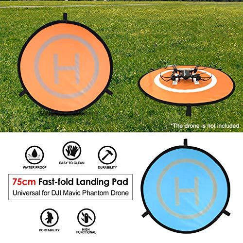 Ballylelly 75cm Fast-Fold Landing Pad Universale FPV Drone Parking Grembiule Impermeabile Pad per...
