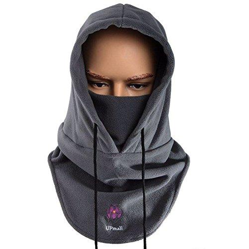 Passamontagna tattico, maschera completa per viso in pile caldo, per sport invernali all'aperto,...