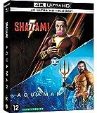 Coffret nouveaux héros 2 films : aquaman ; shazam ! 4k ultra hd [Blu-ray] [FR Import]