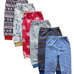 Tinchuk Kids Pajamas Baby Pajamas with Rib Mixed Prints Multi-Coloured - Set of 6