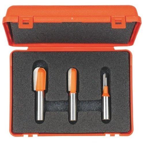 CMT Orange Tools 814,501.11-Cofanetto con 3 frese hm 12,7 radio convesso s