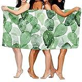 Toallas Decoradas Con Pattern De Cactus