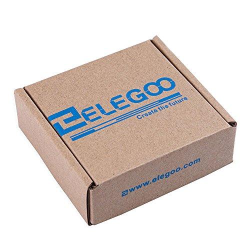 51bGDyfMRDL - ELEGOO Pantalla Táctil TFT de 2,8 Pulgadas con Tarjeta SD con Todos Los Datos Técnicos en CD Compatible con Arduino UNO R3 Placa