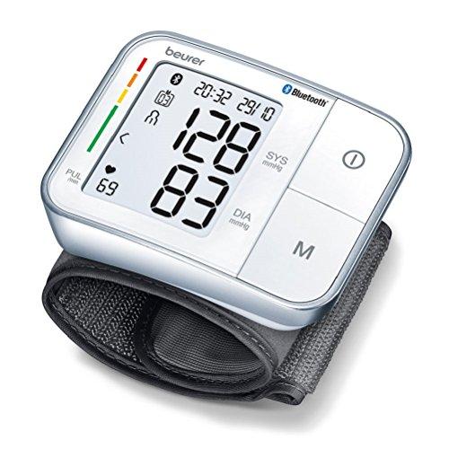Beurer BC 57 Misuratore di Pressione da Polso Bluetooth, con Inflation Technology per Misurazioni...