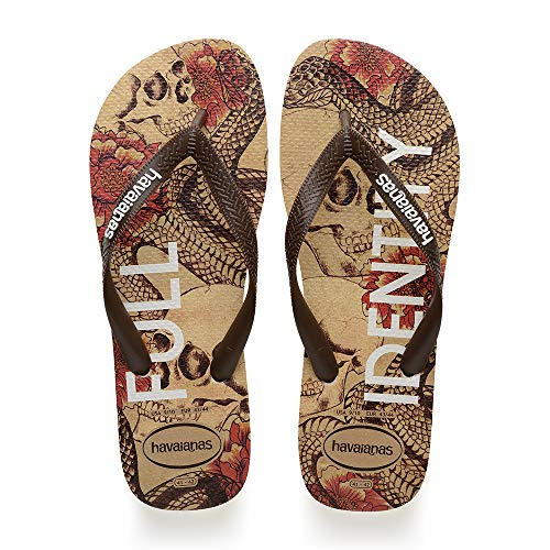 Havaianas Top Tropical, Infradito Uomo, Multicolore (Beige/Brown 1687), 43/44 EU