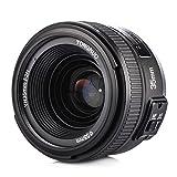Yongnuo YN35mm F2N Objetivo focal fijo de 35 mm enfoque AF / MF con visi¨®n gran angular para c¨¢mara Nikon + TARION bolsa