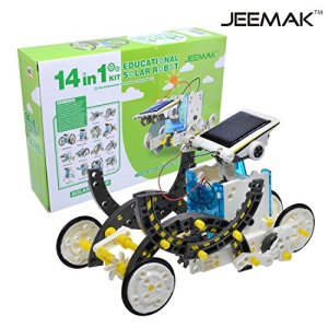 51bVn1CG SL - JEEMAK 14-en-1 para la Educación Solar Robot Kit