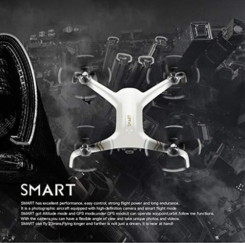 Bescita Drone con Fotocamera C-Fly Smart GPS Live, Fotocamera HD 1080P, WiFi FPV One Key Landung Headless Modus Pieghevole Brushless, Pocket Drone per Principianti Pieghevole RC Quadcopter