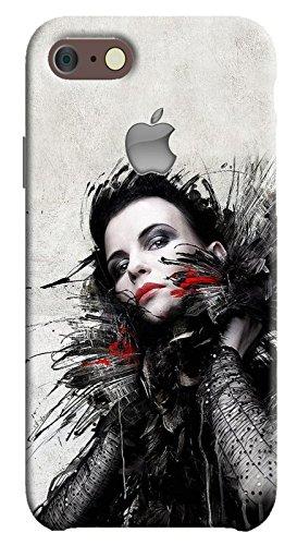 Back cover for Apple iPhone 8 | Designer case |Supper girl matte black iPhone 8 case| 3D Premium quality (Multicolor, Matte Finish,Poly-Carbonate hard plastic)