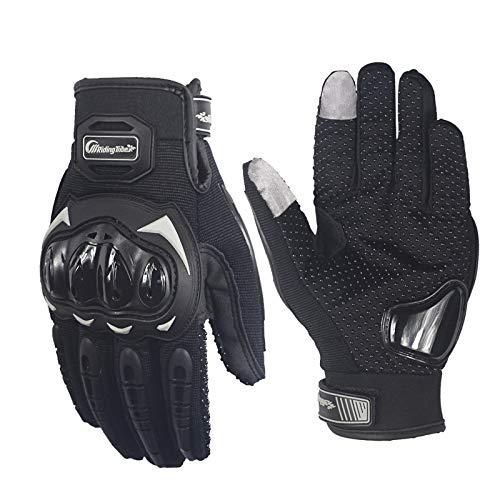 ETbotu ad alta resistenza antiscivolo touch screen guanti da equitazione moto Racing Motorbike